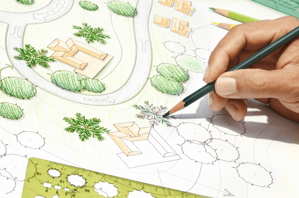 Landscaping plan - home improvement projects